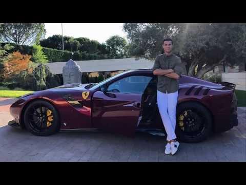 Ronaldo mới tậu siêu xe hàng hiếm cực khủng Ferali 125tdf chỉ có 799 chiếc trên toàn thế giới