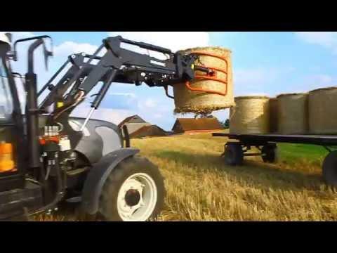 Żniwa 2014 Zetor Proxima 7441 Farmtrac 675 / 690 Bizon  Metal Fach