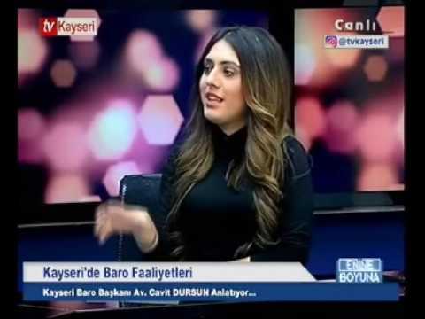 14.11.2016 BARO BAŞKANIMIZ AV.CAVİT DURSUN TV KAYS