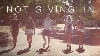 Not Giving In Rudimental [LYRICS & MUSIC VIDEO]
