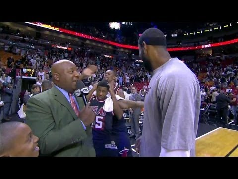 FUNNY: LeBron Gets Videobombed by Chris Bosh & Mario Chalmers