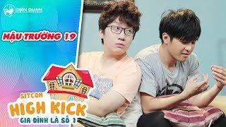 Gia đình là số 1 sitcom | hậu trường 19: Gin Tuấn Kiệt đánh thật khiến Phát La đau sấp mặt