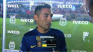 """Carrizo: """"No hay favoritos"""". Arsenal 1 - Boca 1. Fecha 16. Torneo Primera División 2014. FPT"""