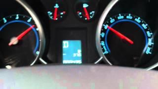 Primeira Acelerada 0-100km/h No Chevrolet Cruze Sport6
