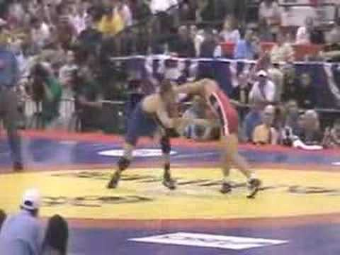 55kg Matt Azevedo vs Henry Cejudo 2008 US Nationals Finals
