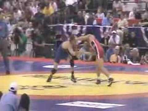55kg Matt Azevedo vs Henry Cejudo 2008 US Nationals Finals