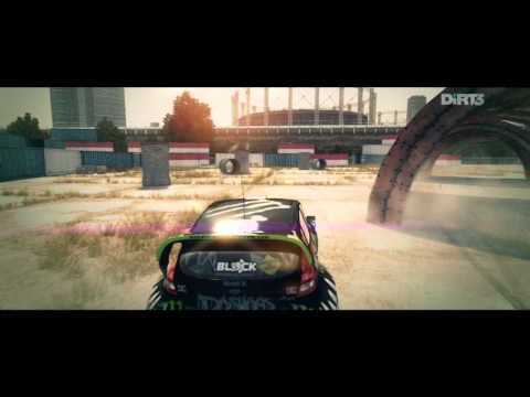 DiRT3-JOYRIDE-DC COMPOUND-4-GYMKHANA HUGE DRIFT