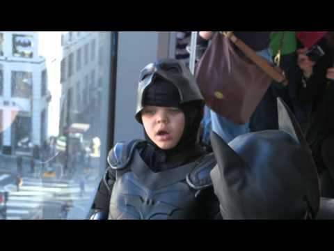 Miles' wish to be Batkid,