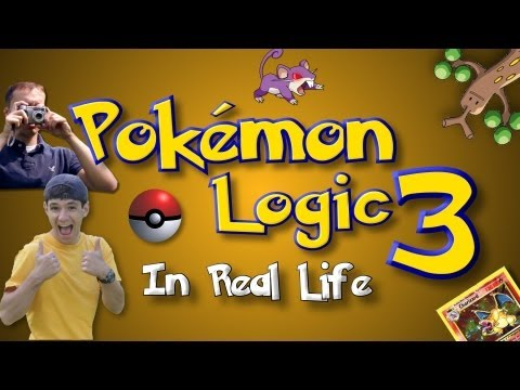 POKEMON LOGIC IN REAL LIFE 3, BE SURE TO WATCH TILL THE END! Because Ass was sent to the Pokemon world. Youngster Joey was sent to the real world.