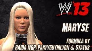 WWE '13 Maryse CAW Formula By RAIDA NGP