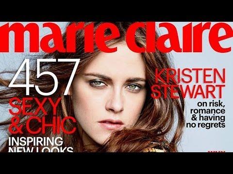 Kristen Stewart Talks Robert Pattinson and Haters in Marie Claire March 2014!