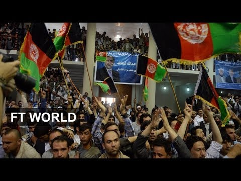Afghan election dispute mounts