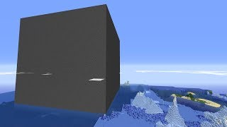 I trapped 200 Minecraft Players inside a Cube of Bedrock