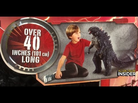 Giant Godzilla 2014 Jakks Pacific Figure Unboxing And Review!