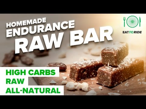 Eat to Ride: Homemade Endurance Raw Bar