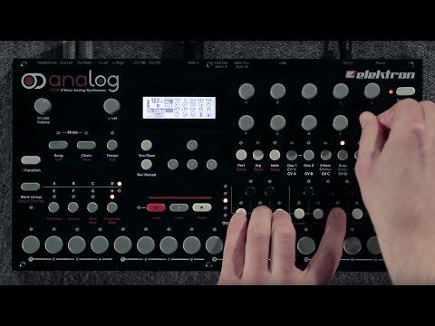 Elektron Analog Four 4 Voice Analog Synthesizer
