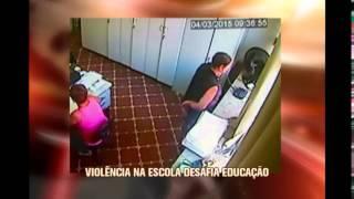 Viol�ncia na escola desafia educa��o