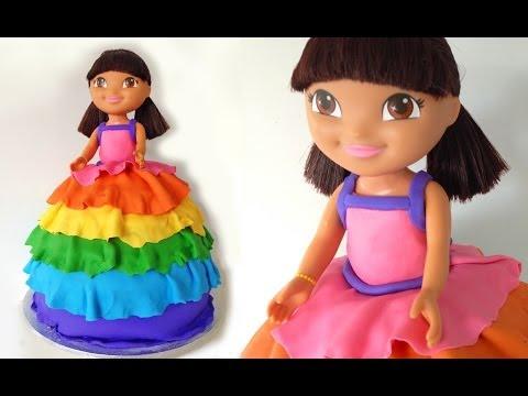 Dora Birthday Cake - Dora születésnapi torta