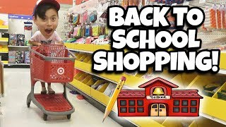 BACK TO SCHOOL SHOPPING!!! We Spent Too Much $$$ at Target!