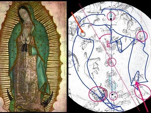 Nuevos secretos al descubierto de las estrellas en la Virgen de Guadalupe: el tiempo del Apocalipsis