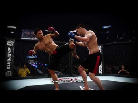 EA Sports MMA новый фатинг для приставок