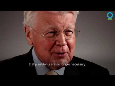 Ólafur Ragnar Grímsson on Climate Change | Conservation International (CI)