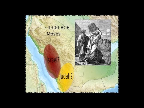Arabian Judaea - Part 1 - the hypothesis