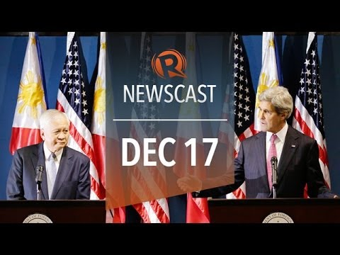 Rappler Newscast | Kerry in PH, PH economy, NSA snooping unconstitutional