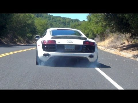 Audi R8 V10 with Capristo Exhaust - In Action