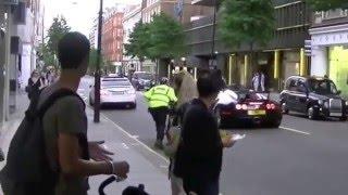 [Dyna-e International Inc Bugatti Pulled Over] Video