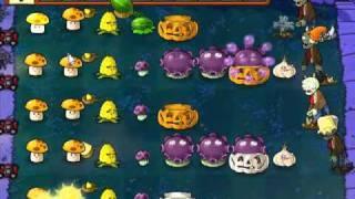 Let's Play Plants Vs Zombies 58 Supervivencia: Noche