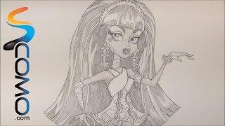 Dibujar A Cleo De Nile De Las Monster High Draw Cleo De