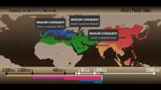 Mapa de las religiones en el mundo