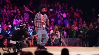 Les Twins Vs Lil'O & Tyger B Juste Debout 2011 Semi-Final