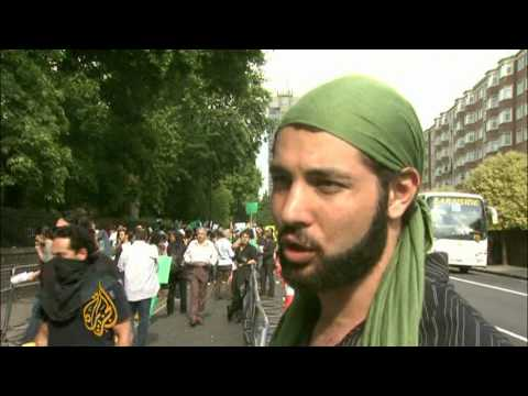 Iranians abroad rally against 'stolen' election - 15 Jun 09