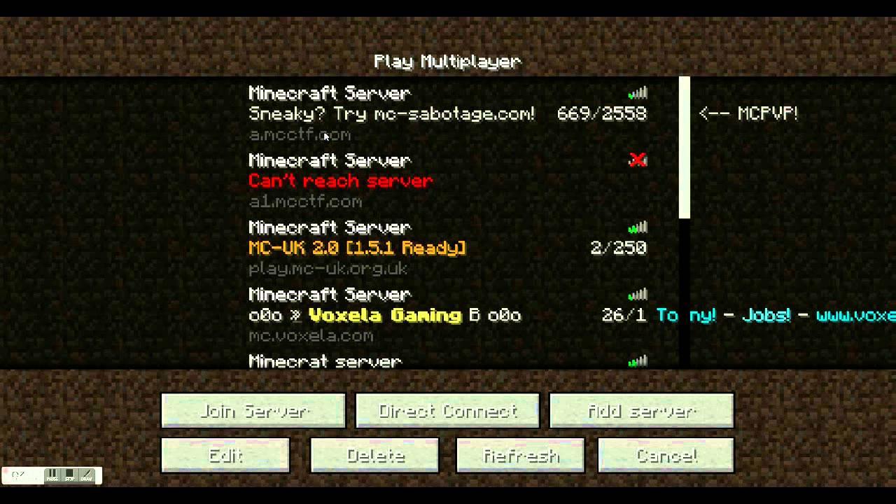 Cool Minecraft Servers Youtube