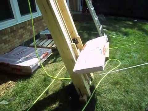 Home Built Roofing Shingle Lift Youtube