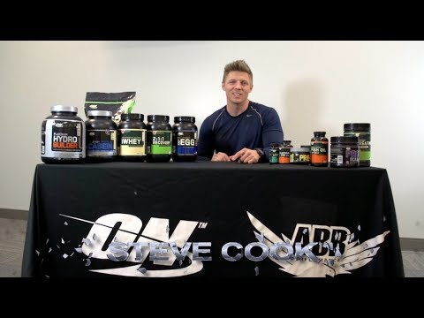 Strength Gaining Program - Optimum Nutrition Supplements