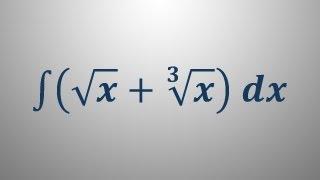 Nedoločeni integral 2