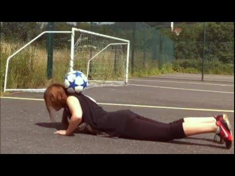Female Freestyle football skills