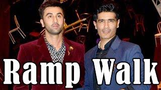 Ranbir Kapoor Blast On Ramp Walk