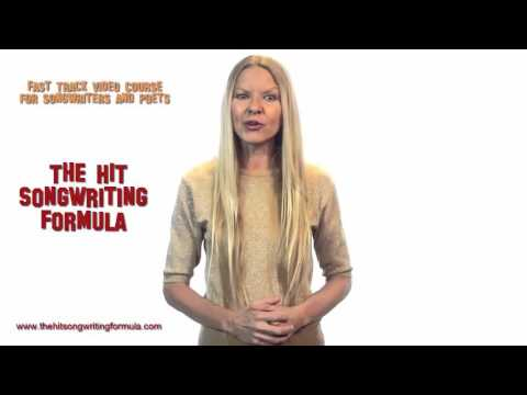 The Hit Songwririting Formula - A fast track to writing great songs!