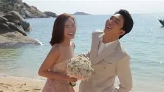 Bí mật đằng sau cảnh quay đám cưới của B Trần và Lan Ngọc