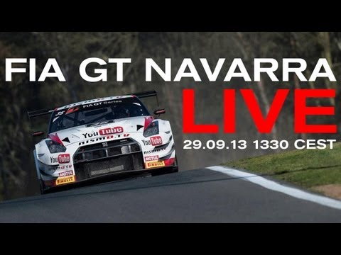 LIVE RACE AND ONBOARD - FIA GT 2013 - Navarra - (Check country restrictions in description)