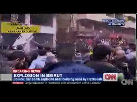 Lebanon On The Brink: Hezbollah Neighborhood (Dahieh) Hit By Car Bomb