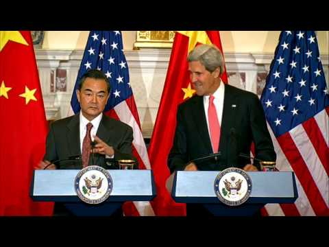 Secretary Kerry Delivers Remarks With Chinese Foreign Minister Wang Yi Before Their Meeting