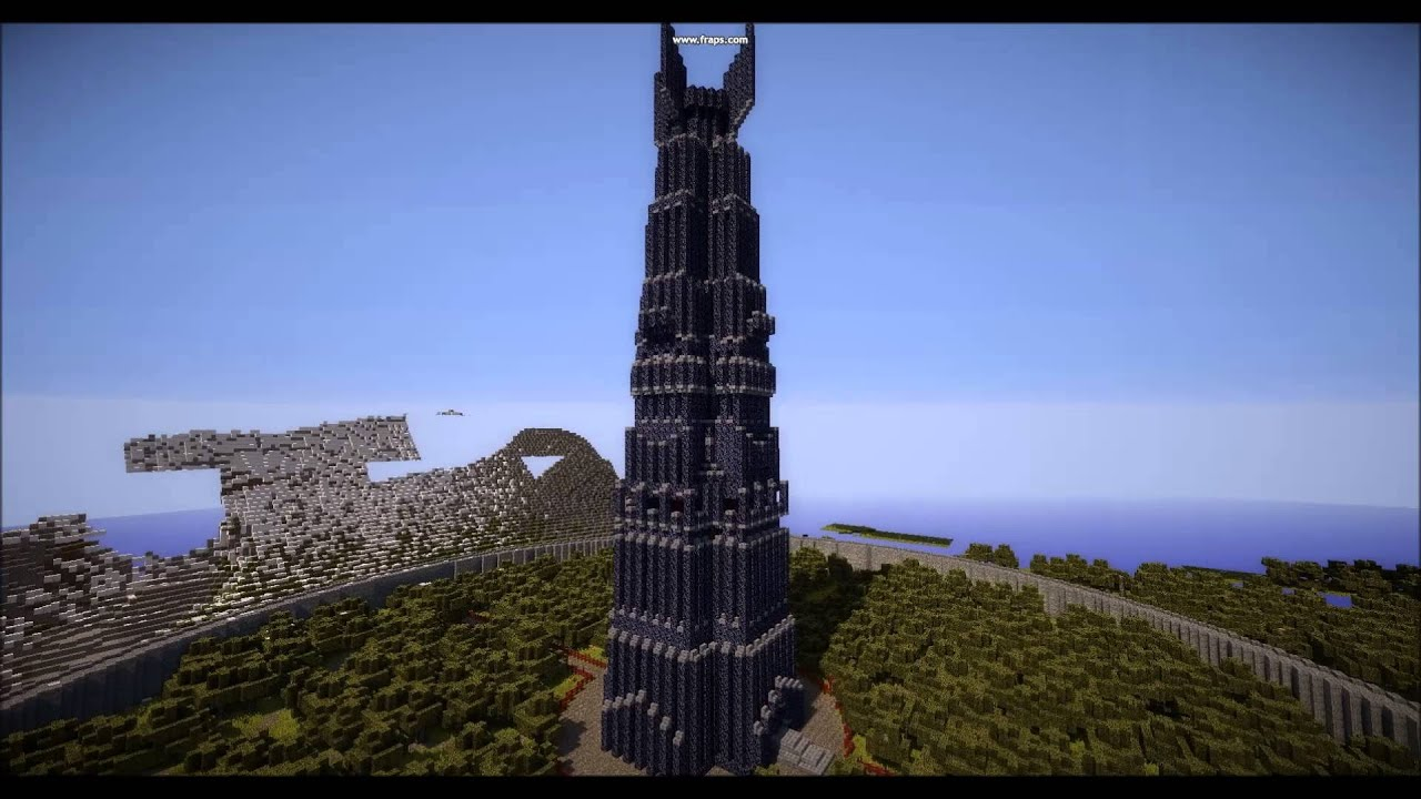 Minecraft middle earth mordor