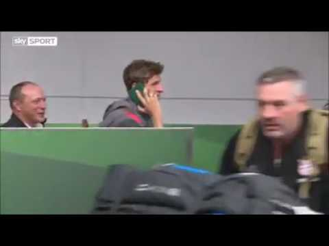 Thomas Müller Funny fake phone call to evade media