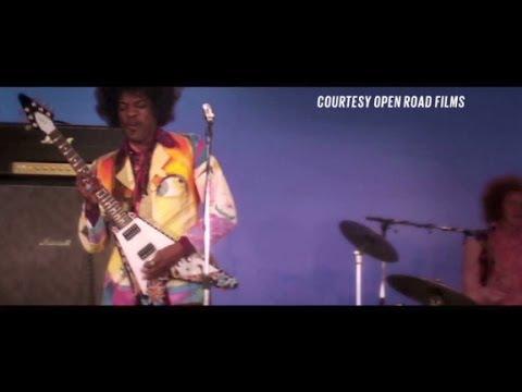 Andre 3000 channels Jimi Hendrix