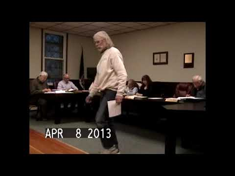 Chazy Town Board Meeting 4-8-13